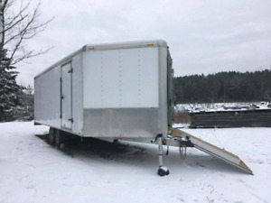 24' All Aluminum Centennial Snow King Trailer in Mint Condition!