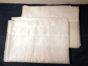 Rideaux voilage blanc 2 panneaux 59x45 pouces