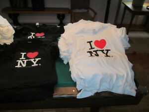 200+ t-shirt chandail I LOVE NEW YORK neuf new adult size