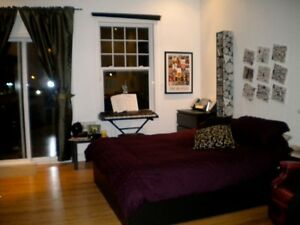 Bright Spacious 2 bdrm North of Glebe with two balconies...
