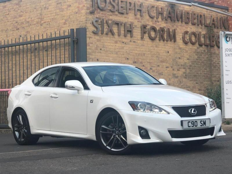 2012 61 lexus is 250 f sport f sport is250 auto mega spec leather camera sat nav in edgbaston. Black Bedroom Furniture Sets. Home Design Ideas