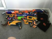 Nerf guns and bundle