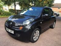 Nissan Micra 1.4 16v SX 3dr FULL LEATHER SEATS, 1YR MOT