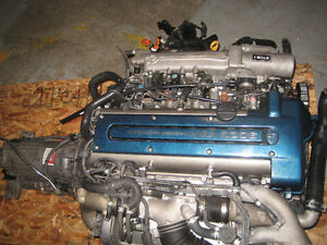 97 01 TOYOTA SUPRA 2JZ TWIN TURBO VVTI ENGINE SWAP JDM 2JZGTE