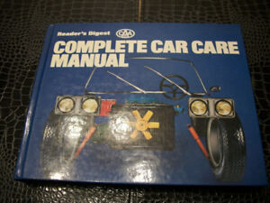 READER'S DIGEST CAA COMPLETE CAR CARE MANUAL