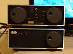 Ampli NAIM et haut-parleur Magne planar + câbles
