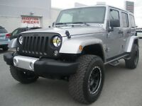 Jeep Wrangler Unlimited 4WD Sahara COMME NEUF  2014