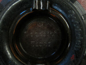 OLD GOODRICH SILVERTOWN TIRE ASHTRAY