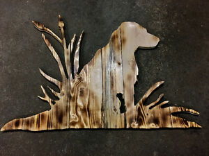 Custom hand made rustic wood signs
