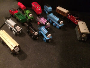 Wooden THOMAS the TRAIN and DVD movies