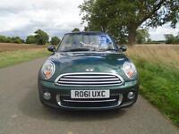 2011/61 MINI CONVERTIBLE 1.6 COOPER D 2DR - HUGE SPEC! - £20 ROAD TAX