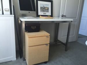 IKEA Desk/Small Counter-height Table