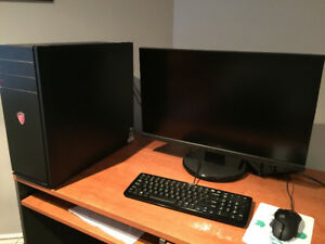Gaming Desktop +  Monitor, Keyboard and Mouse