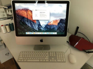 "2008 20"" Aluminum Apple iMac"