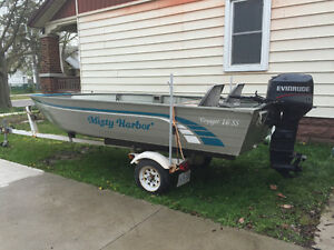 16FT Aluminium Misty Harbor boat