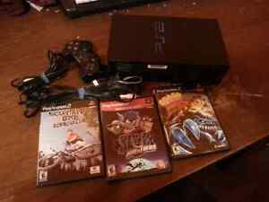 PlayStation 2 with 3 games West Island Greater Montréal image 2