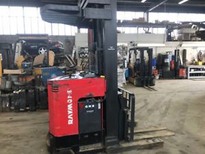 Raymond Easi WP 394- Good condition reach truck.