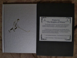 Praise For The Knights Of Winter - Hockey - Signed LTD 500