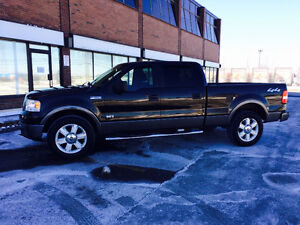2008 Ford F-150 Crew Cab 4 Door xlt 4X4 Truck, SAFETY & E-TEST