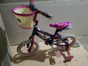 12' girls bicycle for sale.