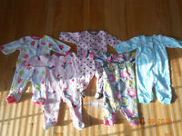Large Lot Girls Size 9mth Clothes