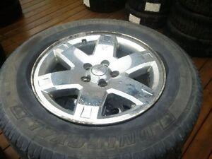 """17"""" jeep chrome rims 5 x 114.3"""