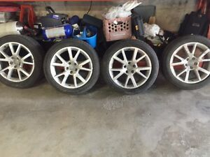 Audi rims and tires 225/50R18