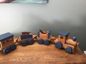 Train Set homemade. 4. Pcs