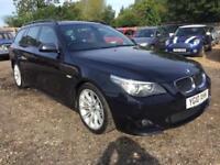2010 BMW 5 Series 2.0 520d M Sport Touring 5dr Diesel Automatic (154 g/km,