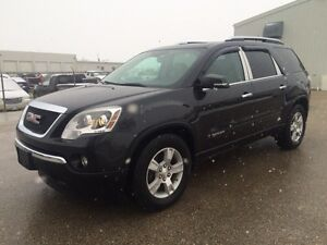 2007 GMC Acadia SLT AWD - fully loaded - Safetied - leather