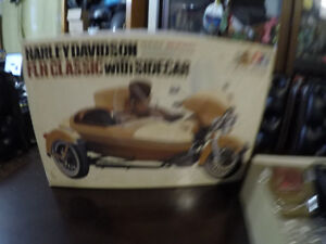 harley model kit FLH WITH SIDECAR