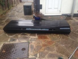 Car Roof Box/Ski Rensi 6000 Long Large Roof box