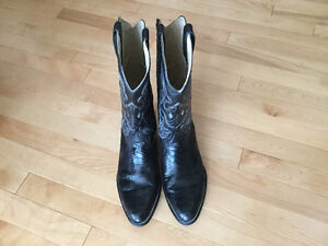 As New! Full Leather Cowboy Boots