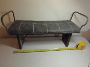 Antique Kids Bench from Wagon - Used for footstool
