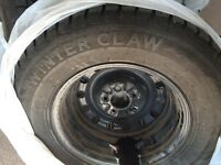 Winter Claw Tires and rims