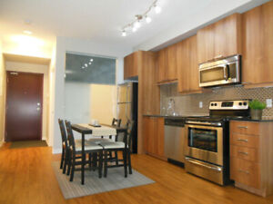 1+1 Bedroom Newer Condo For Rent in Toronto - Available Mar 1st