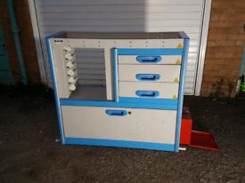 Racking Shelving Drawer Storage Unit for Van