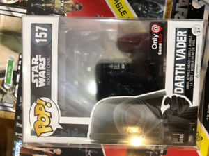Funko Pop Star Wars #157 Darth Vader Game Stop Exclusive