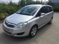 2008 VAUXHALL ZAFIRA EXCLUSIV 7 SEATER HISTORY MOT FINANCE AVAILABLE