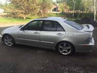 Lexus is 300 manuel 2002