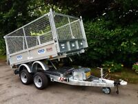 Dale Kane 8x5,6 electric tipper trailer ..type approved !!