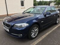 2011 BMW 520d 6 speed, sat nav, with full BMW service history.