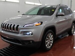 2017 Jeep Cherokee Limited  - $122.13 /Wk - Low Mileage