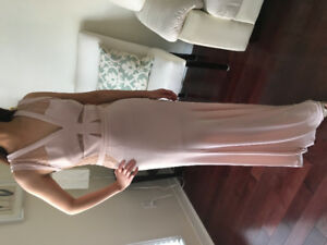BCBG Nude Gown $150