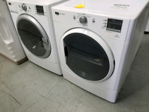 MAYTAG MIDSIZE WASHER AND DRYER