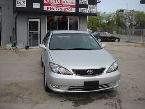 2005 TOYOTA CAMRY SE AUTOMATIC 95000 KMS $ 6495