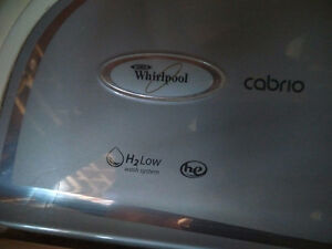 Newer Whirlpool Washer and New Laundry Sink