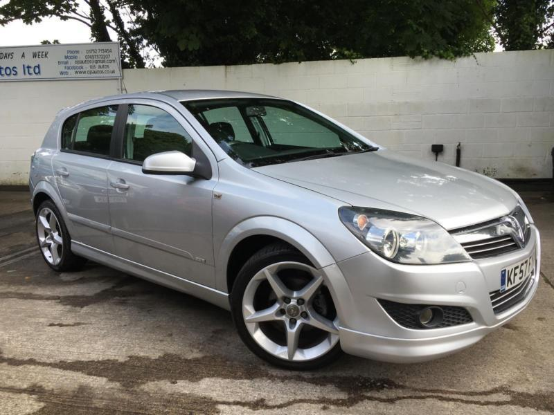 Vauxhall 2007 Astra Sri Exterior Pack 16v Petrol Manual Hatch In Silver In Plymouth