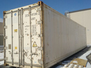 Working mobile freezer reefer 40 ft 9.6 box