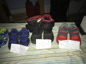 Kids shoes size 7 and 8.5